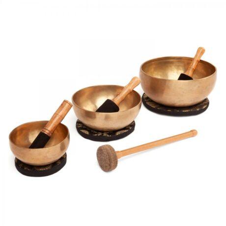 Indiai Hangtál szett - 3 darabos - XL- Bodhi