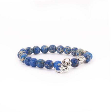 Kék jáspis karmála - Bodhi