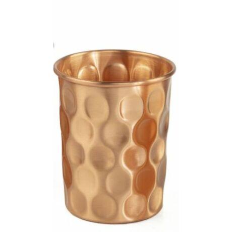 Réz poharak - Gyémánt mintás 2 darab - Bodhi