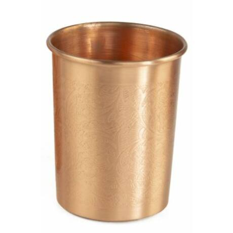 Réz poharak - Mintás 2 darab - Bodhi