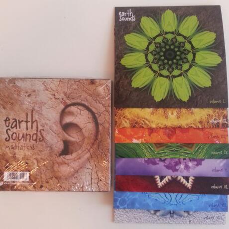 Earth Sounds Meditations 8 Lemezes CD Kollekció