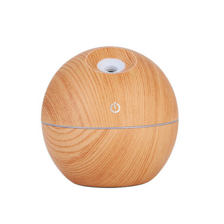 Essential oil diffuser light brown