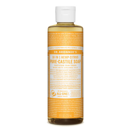 Dr. Bronner's Folyékony szappan koncentrátum - Citrus-narancs 240ml