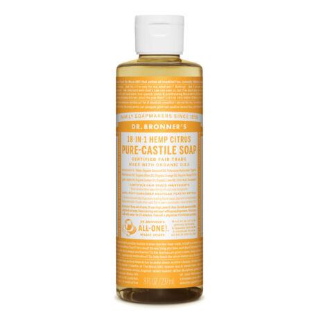 Dr. Bronner's Pure-castile liquid soaps 240ml - Citrus-orange