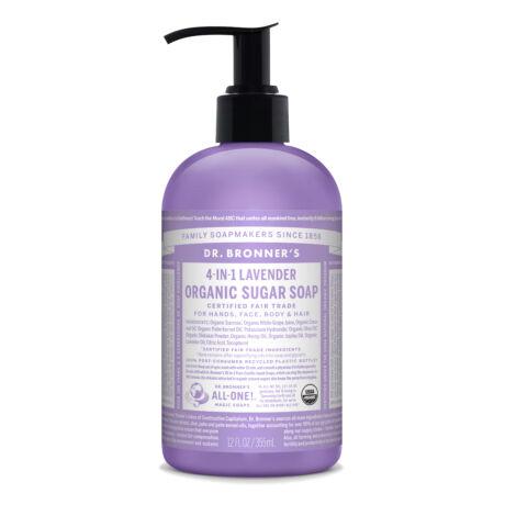 Dr. Bronner's Organic sugar soaps 355ml - Lavender