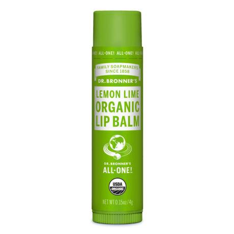 Dr. Bronner's Organic lip balm - Lemon-lime