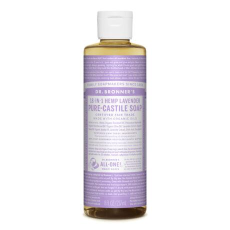 Dr. Bronner's Folyékony szappan koncentrátum - Levendula 240ml