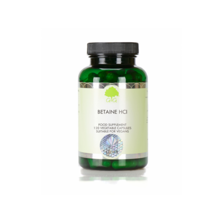 Betaine HCl - 120 Capsules – G&G