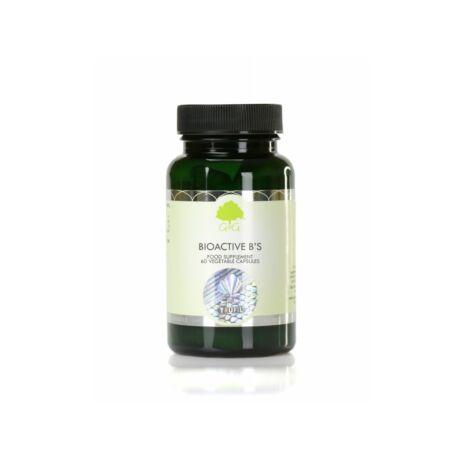 Bioactive B-vitaminok formula 60 kapszula – G&G