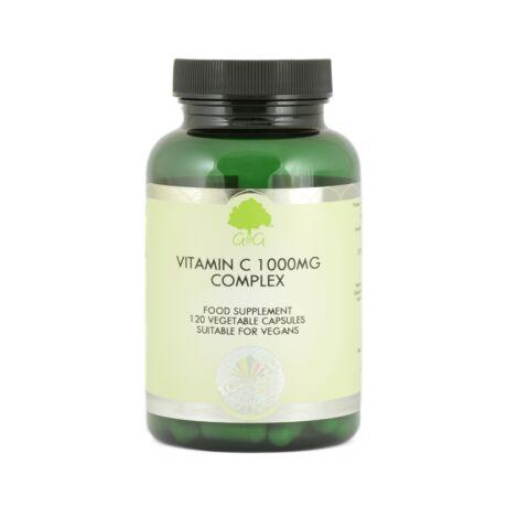 Vitamin C Complex 1000mg - 120 Capsules – G&G