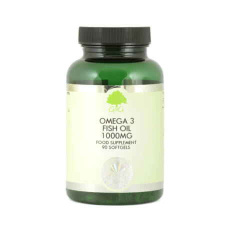 Omega 3 halolaj 1000mg 90 lágyzselatin kapszula – G&G