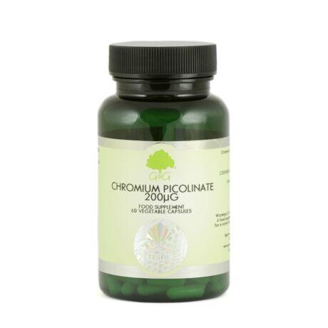 Chromium Picolinate 200µg - 60 Capsules – G&G
