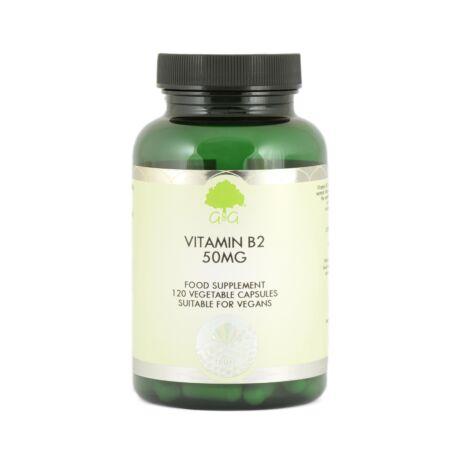 B2-vitamin 50mg 120 kapszula – G&G