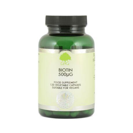 Biotin (H-vitamin) 500mcg 120 kapszula – G&G