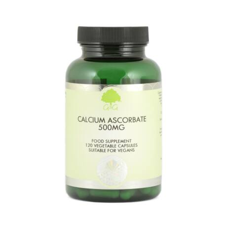 C-vitamin 500mg (kalcium aszkorbát) 120 kapszula – G&G