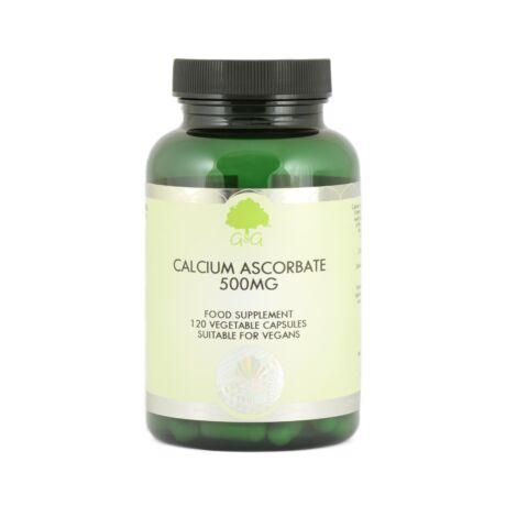 Vitamin C (Calcium Ascorbate) 500mg - 120 Capsules – G&G