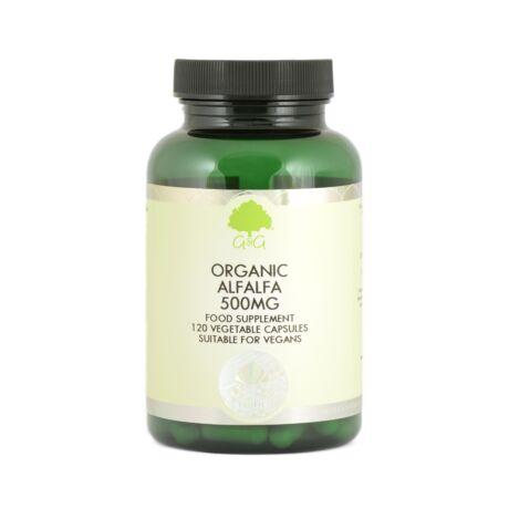 Lucerna (organic alfalfa) 500mg 120 kapszula – G&G