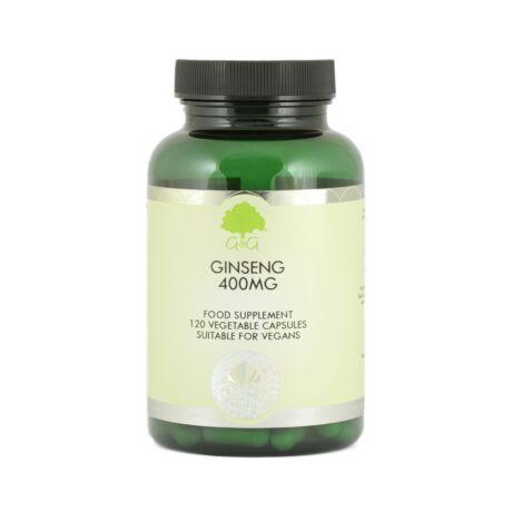 Ginseng 400mg - 120 Capsules – G&G