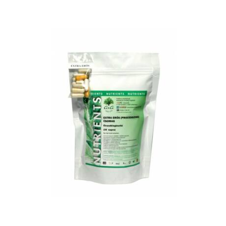 Extra erõs (processzing) napi vitamincsomag – G&G