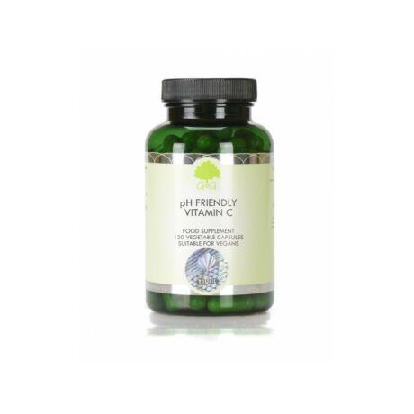 PH-barát C-vitamin formula enzimekkel és gyógynövényekkel 120 kapszula – G&G
