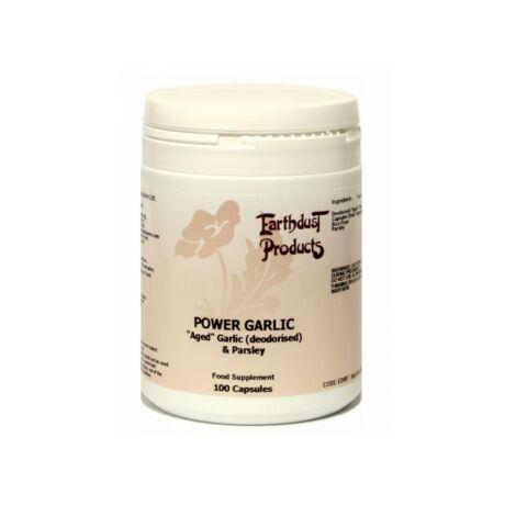 Earthdust Deodorised Aged Garlic & Parsley 100 Caps – G&G