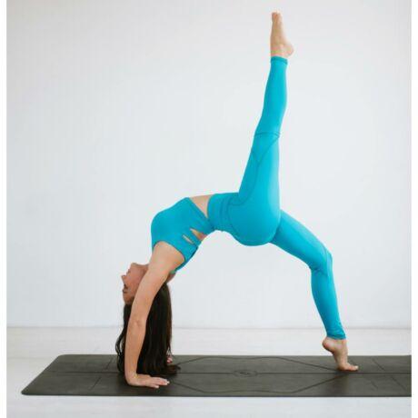 Yoga Secret crop top Azur – Indi-Go