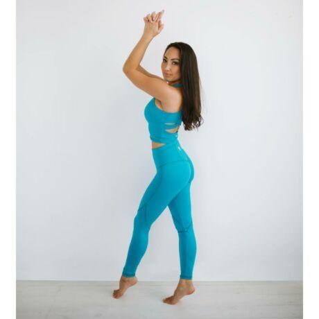 Yoga Secret Jóga Bokanadrág Azur – Indi-Go