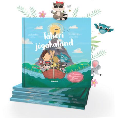 Tábori jógakaland mesekönyv - Jógakaland
