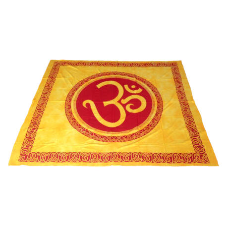 Om Mandala Bed cover