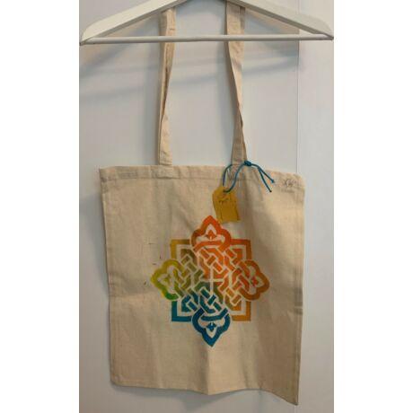 Kézzel festett szövet táska - Alia