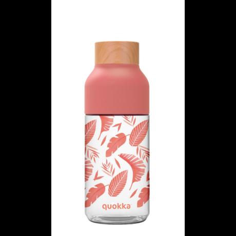 Ice Pink Botanical BPA free bottle 570ml - Quokka