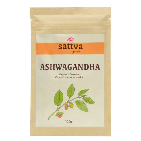 Ashwagandha por 100g - Sattva Ayurveda