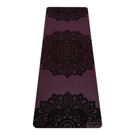 Jógaszőnyeg Infinity Mat - Mandala Burgundy / YogaDesignLab