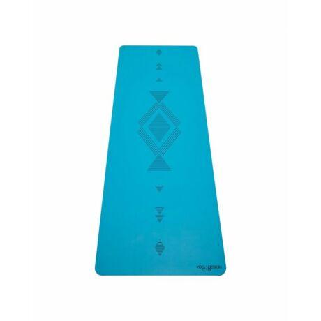 Jógaszőnyeg Infinity Mat - Tribal Aqua / YogaDesignLab