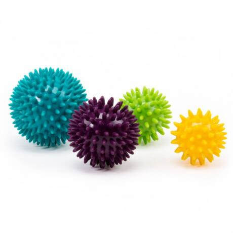 Spiky Massage Ball, Set of 4 balls - Bodhi