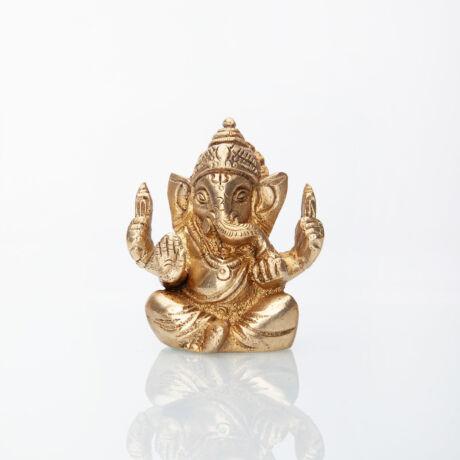 Ganesh brass statue 7cm - Bodhi