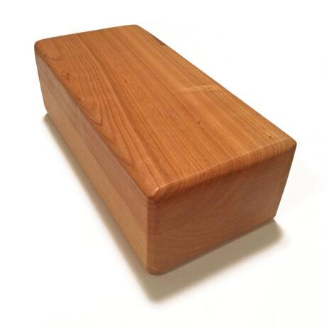 premium jógatégla, yoga brick, fából, fatégla, wooden brick