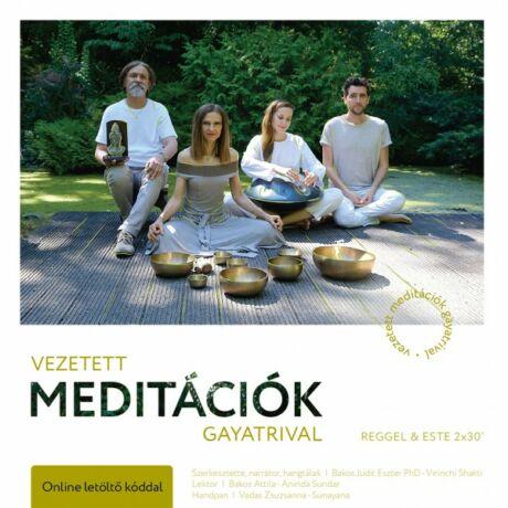 Vezetett meditációk Gayatrival - Reggel&este CD