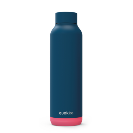 Solid Pink vibe stainless steel 630ml - Quokka