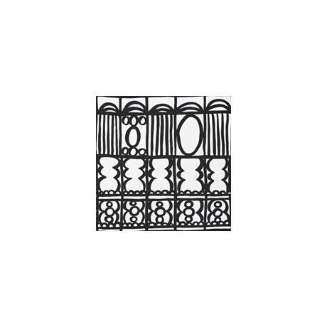 Huzat pamut hengerpárnához (Mintás)  - Bindu