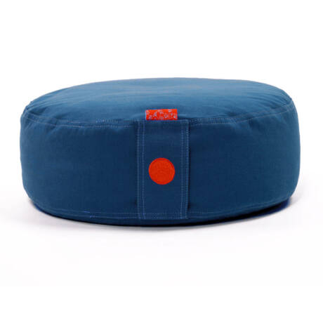 Cover for round meditation cushion