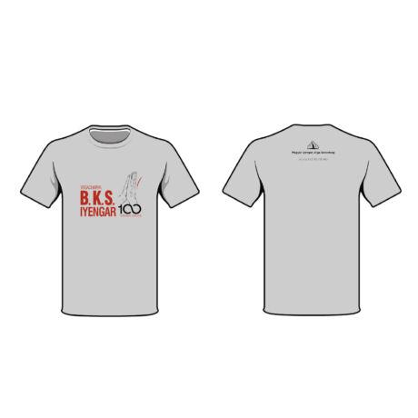 Unisex Grey Yoga T-shirt
