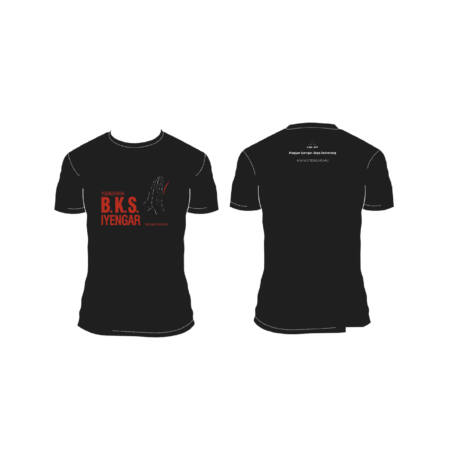 Unisex Black Yoga T-shirt