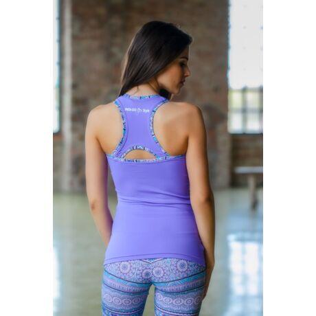 Purple Mandala-Kinga Yoga Tanktop