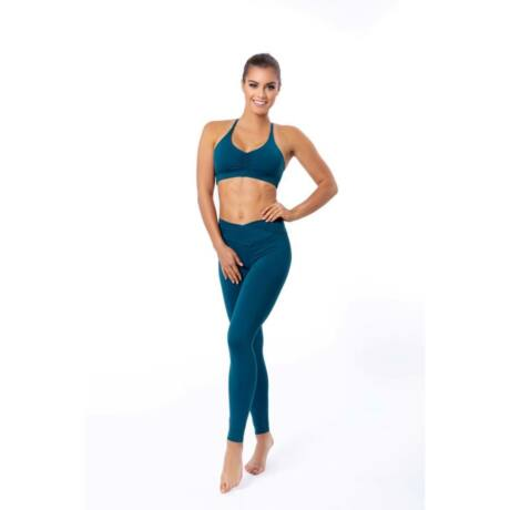 Venice soft fitness Yoga Pants Petrol – Indi-Go