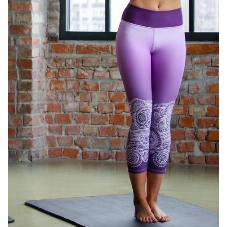 jóga capri, yoga capri, Purple Fantasy