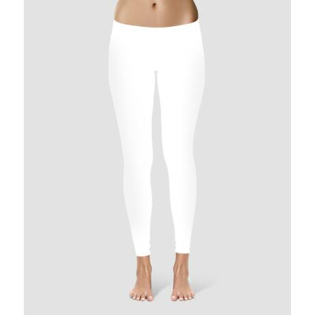 White Yoga Leggings - PatentDuo