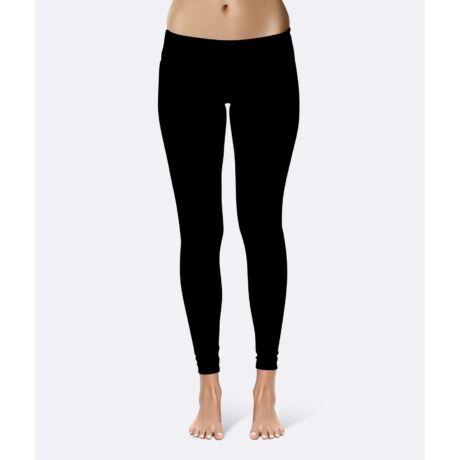 Női fekete jóganadrág - PatentDuo