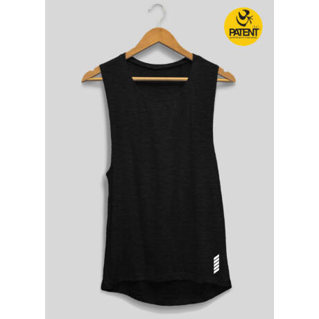Női fekete trikó - PatentDuo