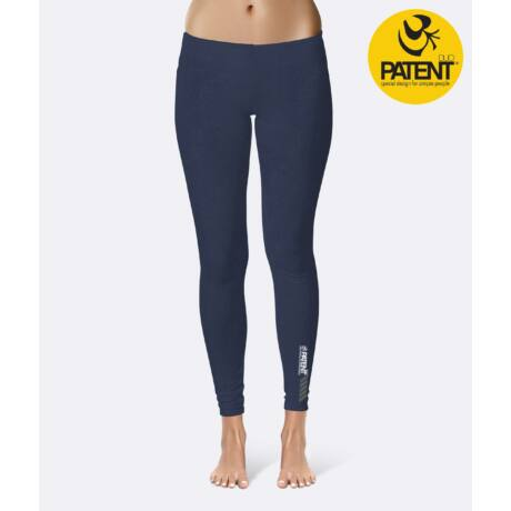 Blue Yoga Leggings - PatentDuo